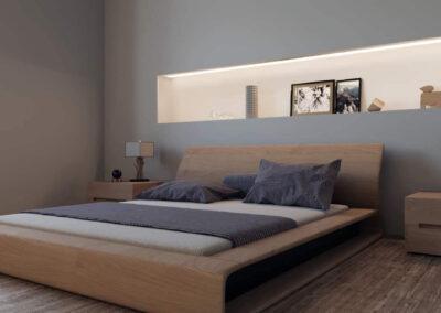 rendering camera da letto a ravenna