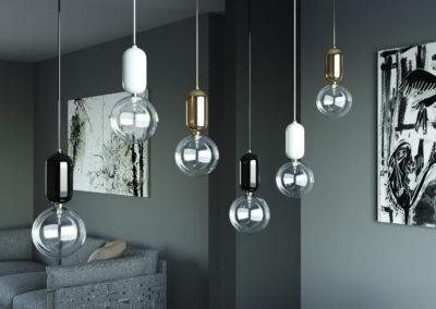 rendering di una villa a roma - rendering lampadine